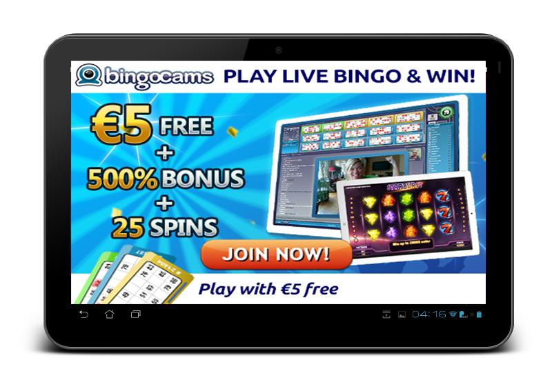 tablet bingo bingocams