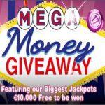 Mega Money Giveaway bij Bingocams casino