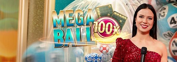 LIve Mega Ball bingo lotto